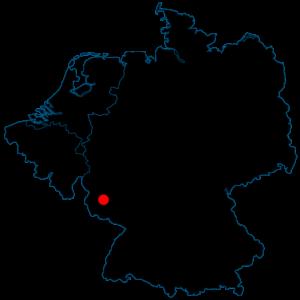 Kaart Duitsland Berschweiler Freissen