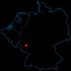 kaart Juchem groeve